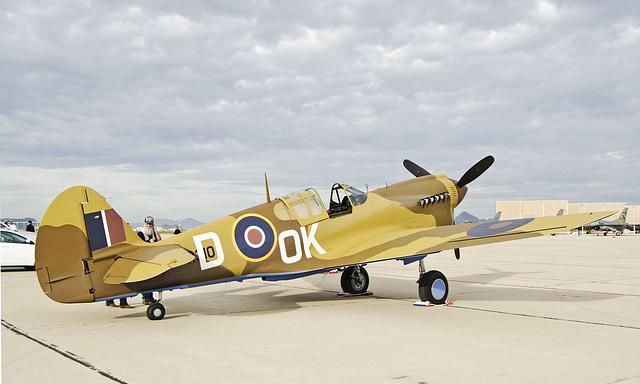 Curtiss P-40M Kittyhawk N40DF