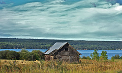 The old barn at Lac La Hache, BC