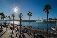 am Hafen von Malaga (© Buelipix)