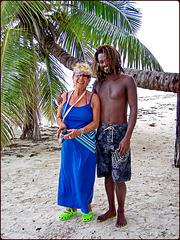 Seychelles : la signora ha fatto amicizia con l'indigeno, giovane e al cioccolato ! :-))