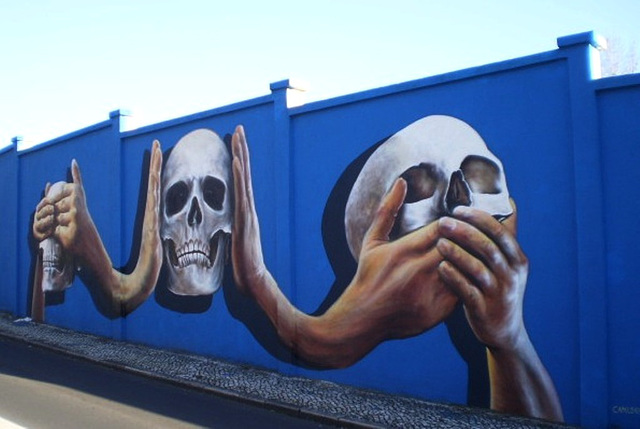 Muro Azul (Blue Wall).