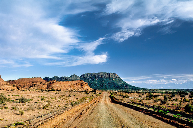 Ischigualasto - leaving on Ruta Provincial 259