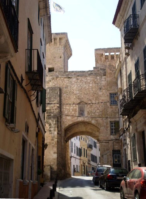 Saint Rock Gate (14th century).