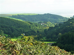 This is North Devon countryside