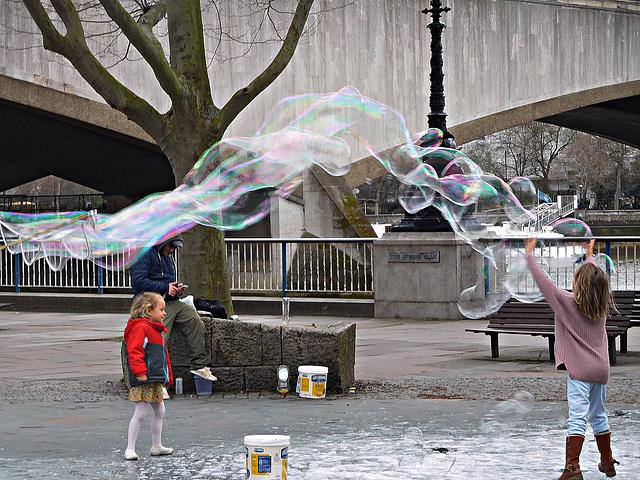 A bubble curve
