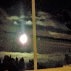 Moon through the window 25.5.21