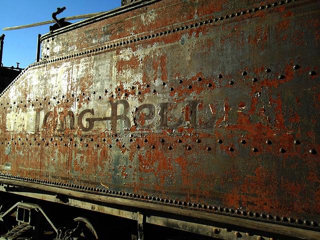 Long-Bell Lumber Co. slopeback tender