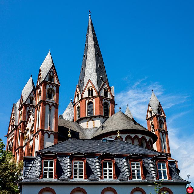Der schiefe Turm vom Dom zu Limburg