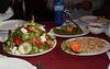 Salads and starters.