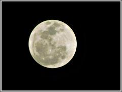 La lune du 24 septembre 2018 avec note