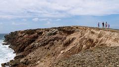 érosion dans la savane des pétrifications