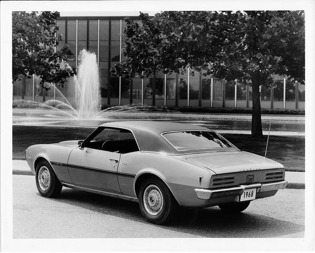 1968 Pontiac Firebird H.O.