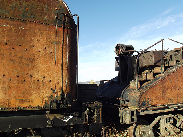 The glory of rust and blue