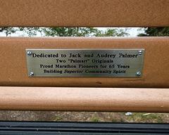 Palmart bench