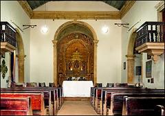 Recife : Igarassu, Igreia de São Cosme e Damião - interior view