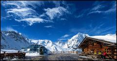 Panorama von der Madritschhütte/Ortler