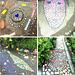 Mosaiken auf den Wegen durch den Park... ©UdoSm