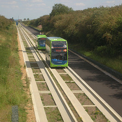 DSCN6705 Cambridgeshire Guided Busway - 9 Aug 2011