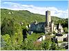 Mitten im Taunus : Burg und Kaisertempel