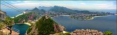 Rio de Janeiro : Panoramic view - (865)