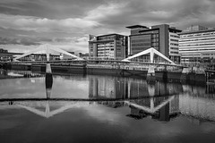Squiggly Bridge and the Broomielaw