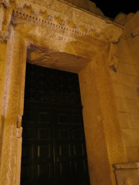 Split : fronton du temple de Jupiter.
