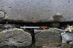 stoned wall