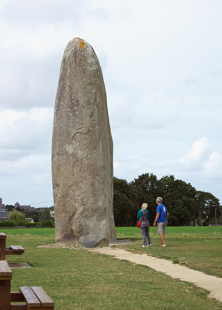 Examining the Menhir de Champ-Dolent