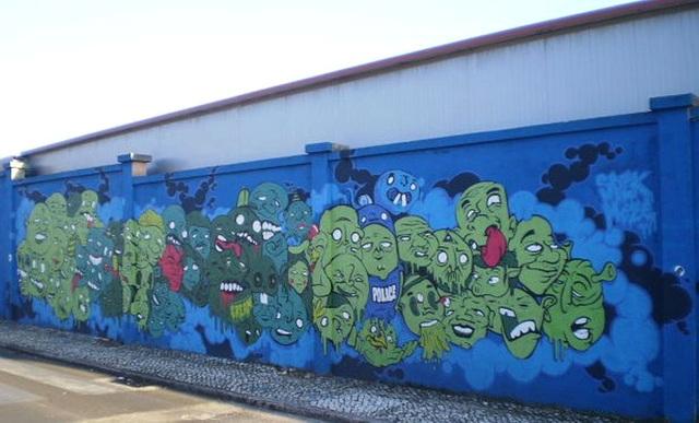 Muro Azul (Blue Wall).