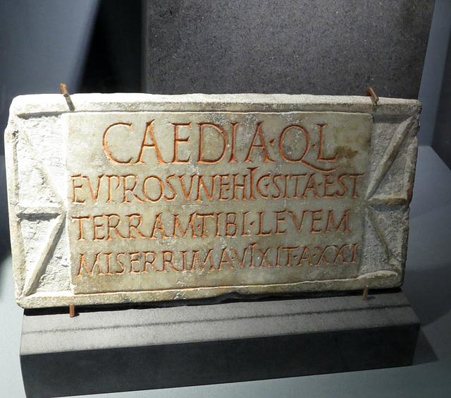 Musée de Jublains : AE 1992, 206.