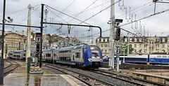 Lyon (69) 4 novembre 2013. Gare de Perrache.