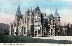 Laggan House, Ayrshire, Scotland (demolished)