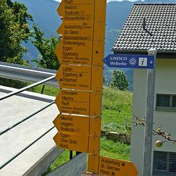 Ausserberg im Kanton Wallis