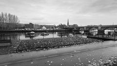 River Leven at Westbridgend, Dumbarton