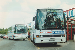 Yorkshire Traction P58 NWG and N281 CAK at Milton Keynes - 2 June 1997