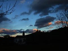 1 (60)...austria loweraustria edlach a d rax..church ...clouds