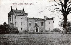 Farme Castle, Lanarkshire (Demolished c1954)