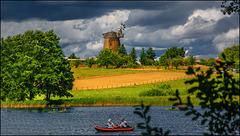 Auf dem Dreetzsee