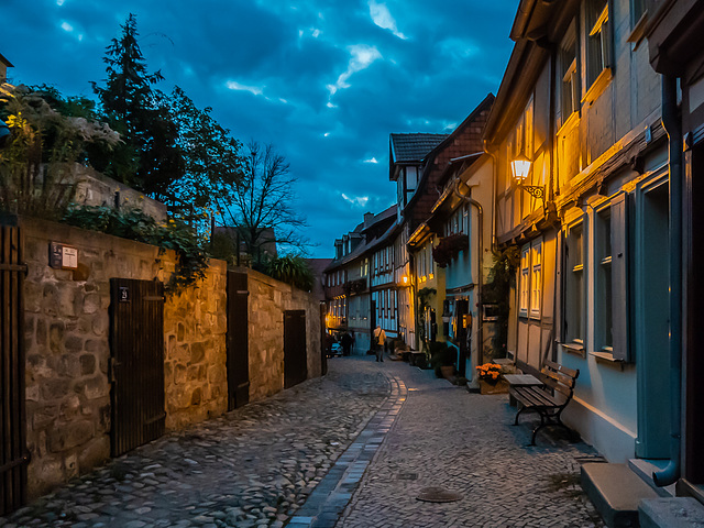 Gasse / Alley - Quedlinburg