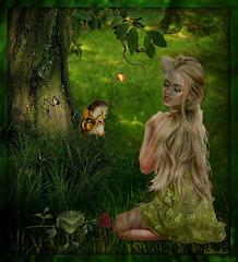 Petite fée des bois...