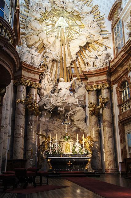 Karlskirche; Das ist Barock Alter!
