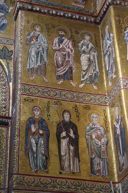 Saints Philip, Bartholomew, Luke, Agatha, Anthony and Blasius
