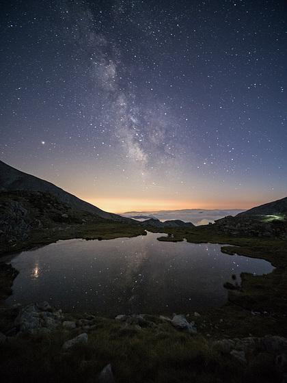 Milky way dans le Mercantour