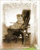 """Sitting Dog"" (((•‿•)))"