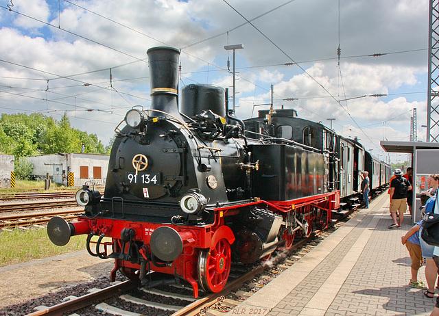 Lok 91 134 in Wismar