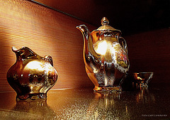 elegant coffee set
