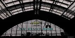 Köln - Alte Leuchtreklame im Hauptbahnhof
