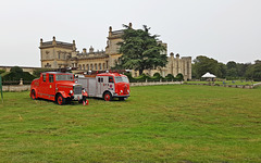 The Fire brigade are standing by ~ Grimsthorpe Castle vintage speed trials