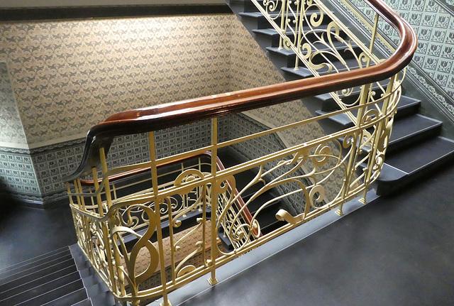 Treppengeländer im Holstenhof -HFF