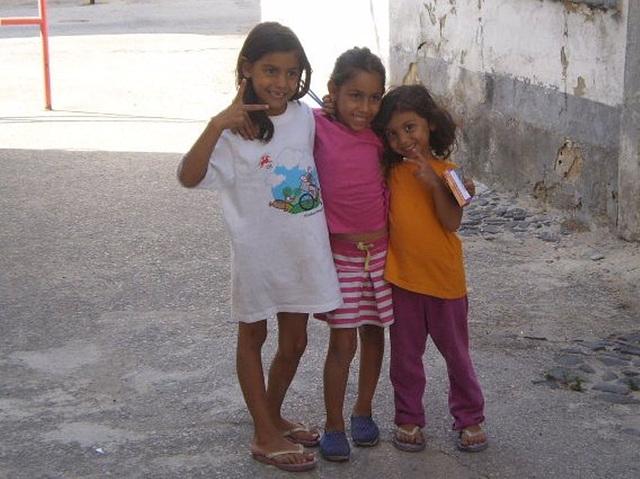 Little gipsy girls.
